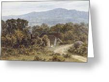 Hindhead From Sandhills Witley Greeting Card