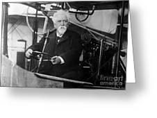 Hiram Maxim, American-anglo Inventor Greeting Card