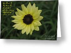 His Love Endures Forever Greeting Card