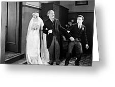 His Marriage Wow, 1925 Greeting Card
