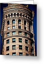 Historic Building In San Francisco - Colour Greeting Card