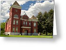 Historic Courthouse Marysvale Utah Greeting Card