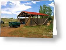 Historic Fruita District Barn Greeting Card