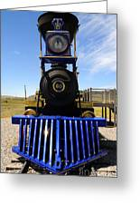 Historic Jupiter Steam Locomotive Greeting Card