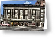 Historic Met Theater In Morgantown Wv Greeting Card