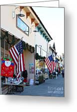 Historic Niles District In California Near Fremont . Main Street . Niles Boulevard . 7d10693 Greeting Card