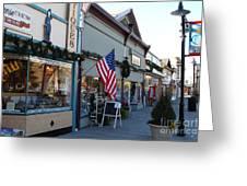 Historic Niles District In California Near Fremont . Main Street . Niles Boulevard . 7d10701 Greeting Card