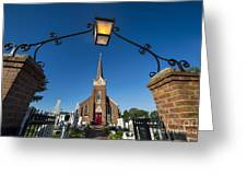 Historic St Peter's Episcopal Church Greeting Card