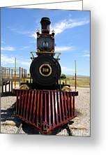 Historic Steam Locomotive Greeting Card