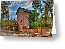 Historic Woods Grist Mill Greeting Card