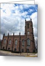 Historical 1st Presbyterian Church - Gates Avenue Se Huntsville Alabama Usa - Circa 1818 Greeting Card