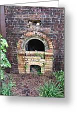 Historical Antique Brick Kiln In Morgan County Alabama Usa Greeting Card