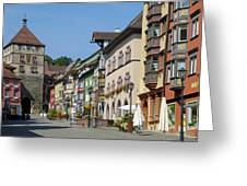 Historical Old Town Rottweil Germany Greeting Card by Matthias Hauser