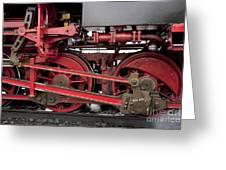 Historical Steam Train Greeting Card