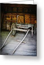 Hitch Your Wagon Greeting Card by Colleen Kammerer