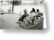 Hoan Kiem Lake Greeting Card