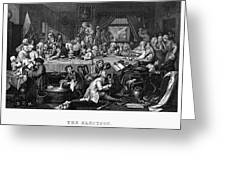 Hogarth: Election Greeting Card