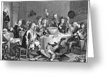 Hogarth: Rakes Progress Greeting Card