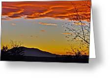 Hogback Mountain Greeting Card