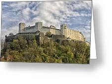 Hohensalzburg Castle Greeting Card
