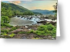 Hole In The New River Greeting Card