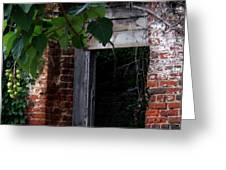 Hole In The Wall2 Greeting Card