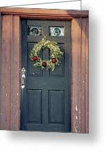 Holiday Door Greeting Card