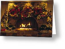 Holiday Hearth Greeting Card