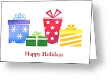 Holiday Presents Greeting Card