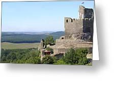 Holloko Castle Hungary Greeting Card