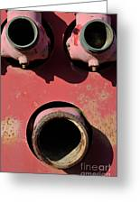 Hollow Face Greeting Card