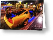 Hollywood Bumblebee Greeting Card
