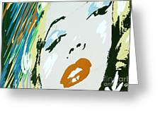 Marilyn In Hollywood 3 Greeting Card