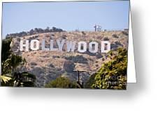 Hollywood Sign Photo Greeting Card