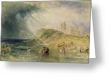 Holy Island - Northumberland Greeting Card