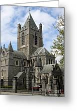 Holy Trinity Cathedral Dublin Greeting Card