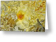 Homage To The Sun  Greeting Card