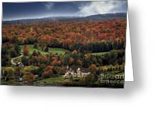 Home In Lac Megantic Greeting Card