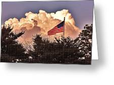 Home Of The Brave Greeting Card