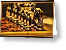 Homemade Chess Greeting Card