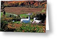 Homestead Of Faith Greeting Card