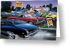 Honest Als Used Cars Greeting Card