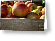 Honey Crisp Greeting Card by Susan Herber