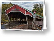 Honeymoon Bridge Greeting Card