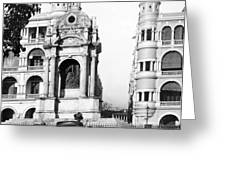 Hong Kong - Monument To Queen Victoria - C 1906 Greeting Card