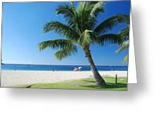 Honolulu Sun 0757 Greeting Card