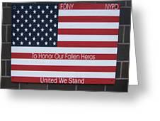 Honor Fallen Heroes Greeting Card