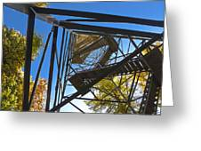 Hoodoo Fire Lookout Tower Greeting Card