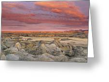 Hoodoos, Milk River Badlands, Writing Greeting Card