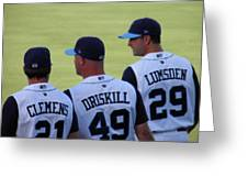 Hooks Players Greeting Card